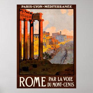 Rome Travel Poster