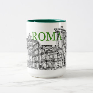 rome travel souvenir coffee mug