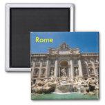 Rome Trevi Fountain Fridge Magnet