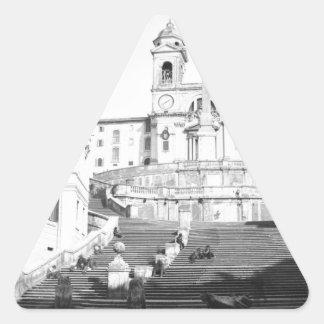 Rome Triangle Sticker
