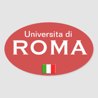Rome University European sticker