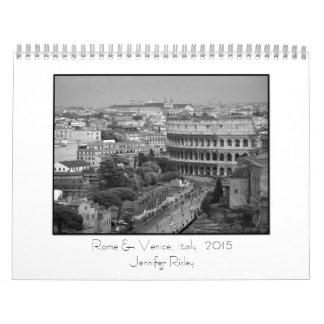 Rome & Venice, Italy - 2015 Calendar