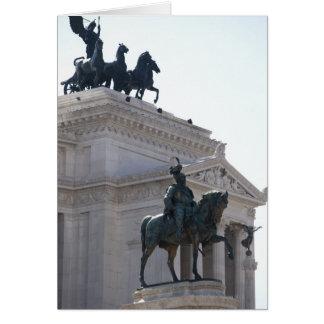 Rome. Vittorio Emanuele monument Card