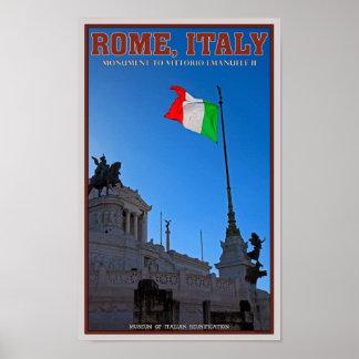Rome - Vittorio Monument Poster
