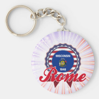 Rome, WI Key Chains