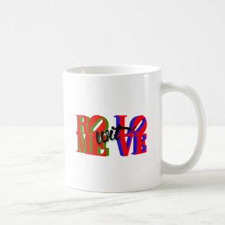Rome wit' Love Accessories Basic White Mug
