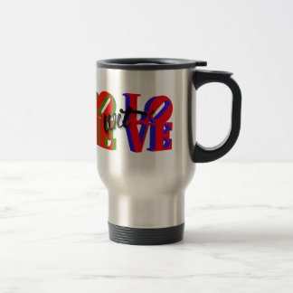 Rome wit' Love Accessories Stainless Steel Travel Mug