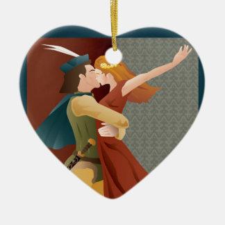 Romeo and Juliet, ballet Ceramic Ornament