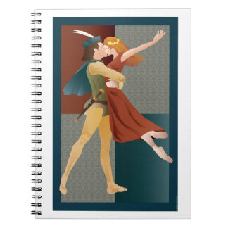 Romeo and Juliet, ballet Spiral Notebook