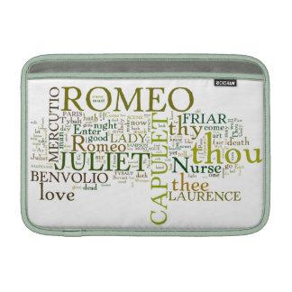Romeo and Juliet Macbook Air Sleeve