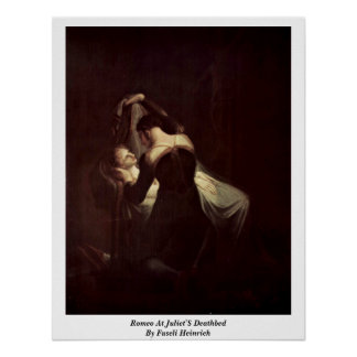 Romeo At Juliet'S Deathbed By Fuseli Heinrich Posters