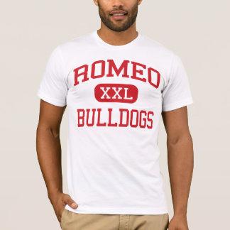 Romeo - Bulldogs - High School - Romeo Michigan T-Shirt
