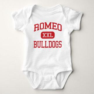 Romeo - Bulldogs - Junior - Romeo Michigan Baby Bodysuit