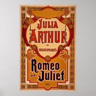 Romeo & Juliet Vintage Poster