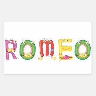 Romeo Sticker