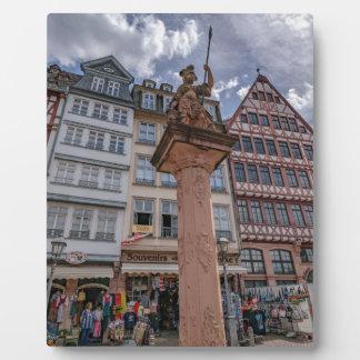 Romer Frankfurt Plaque