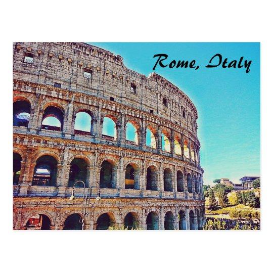 Rome's Colosseum Postcard
