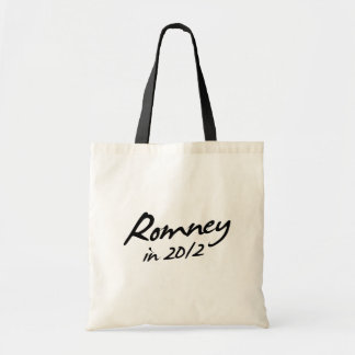 ROMNEY 2012 Autograph Tote Bag