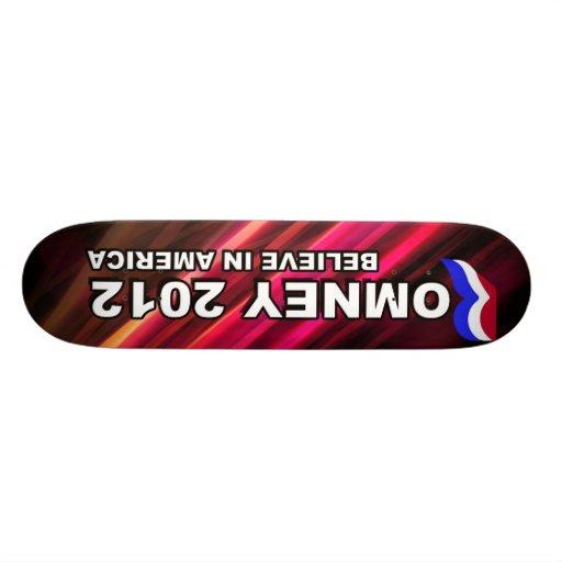 Romney 2012 Competition Skateboard