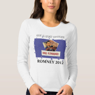 Romney 2012: Set a New Course T-shirts