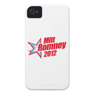 ROMNEY 2012 (Star Republican) iPhone 4 Case-Mate Case