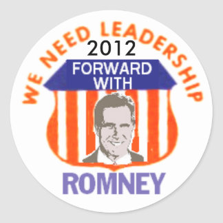 Romney 2012 Sticker