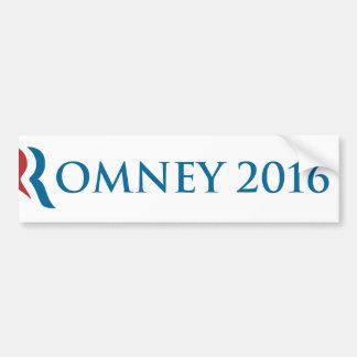 Romney 2016 bumper sticker