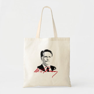 ROMNEY AUTOGRAPH RED.png Tote Bags