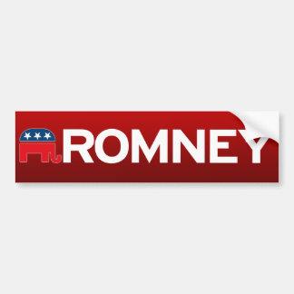 Romney Car Bumper Sticker