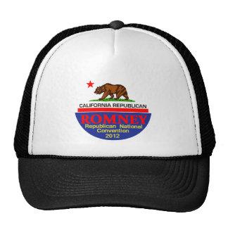 Romney CALIFORNIA RNC Cap