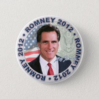 Romney Economy Fix 6 Cm Round Badge