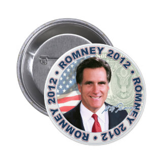 Romney Economy Fix Pinback Buttons