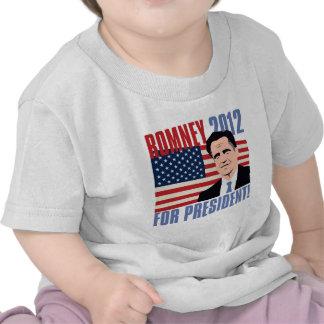 Romney for president 2012 t shirts