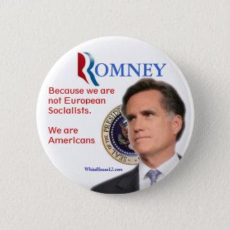Romney for President 6 Cm Round Badge