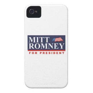 ROMNEY FOR PRESIDENT (Banner) iPhone 4 Cover
