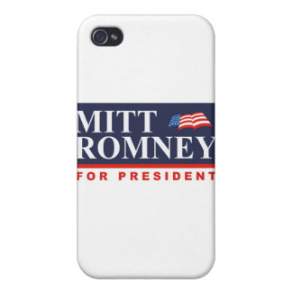 ROMNEY FOR PRESIDENT Banner Covers For iPhone 4