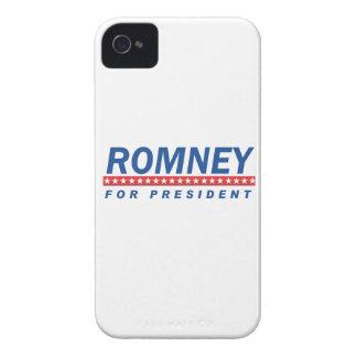 ROMNEY FOR PRESIDENT (Blue) iPhone 4 Case