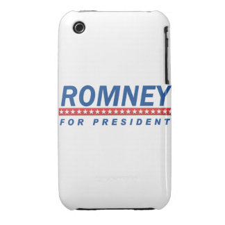 ROMNEY FOR PRESIDENT (Blue) Case-Mate iPhone 3 Cases