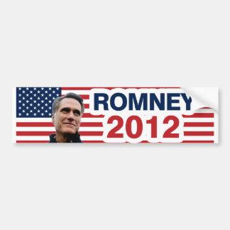 Romney for president bumper sticker