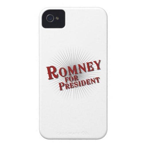 ROMNEY FOR PRESIDENT (Burst) Case-Mate Blackberry Case