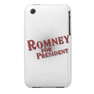 ROMNEY FOR PRESIDENT Burst iPhone 3 Case-Mate Cases