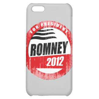 ROMNEY FOR PRESIDENT BUTTON.png iPhone 5C Case