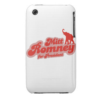 ROMNEY FOR PRESIDENT GOP iPhone 3 CASES