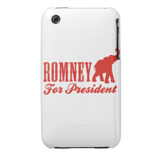 ROMNEY FOR PRESIDENT (Gothic) iPhone 3 Cover