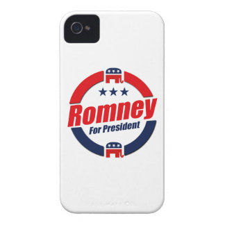 ROMNEY FOR PRESIDENT (Republican) iPhone 4 Case-Mate Cases