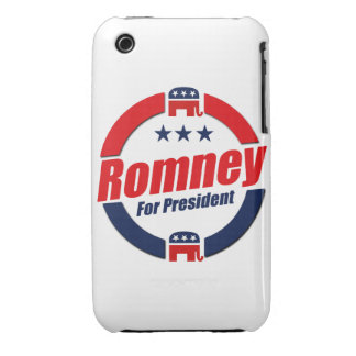 ROMNEY FOR PRESIDENT (Republican) iPhone 3 Covers