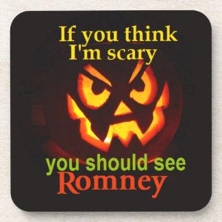 Romney Halloween Coaster