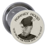 Romney Hood 2012 7.5 Cm Round Badge