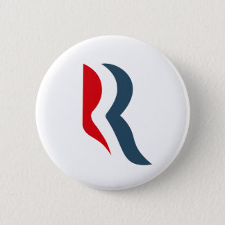 Romney icon 6 cm round badge