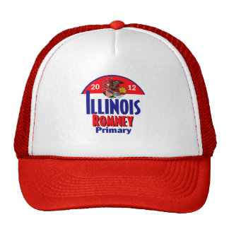 Romney ILLINOIS Hat